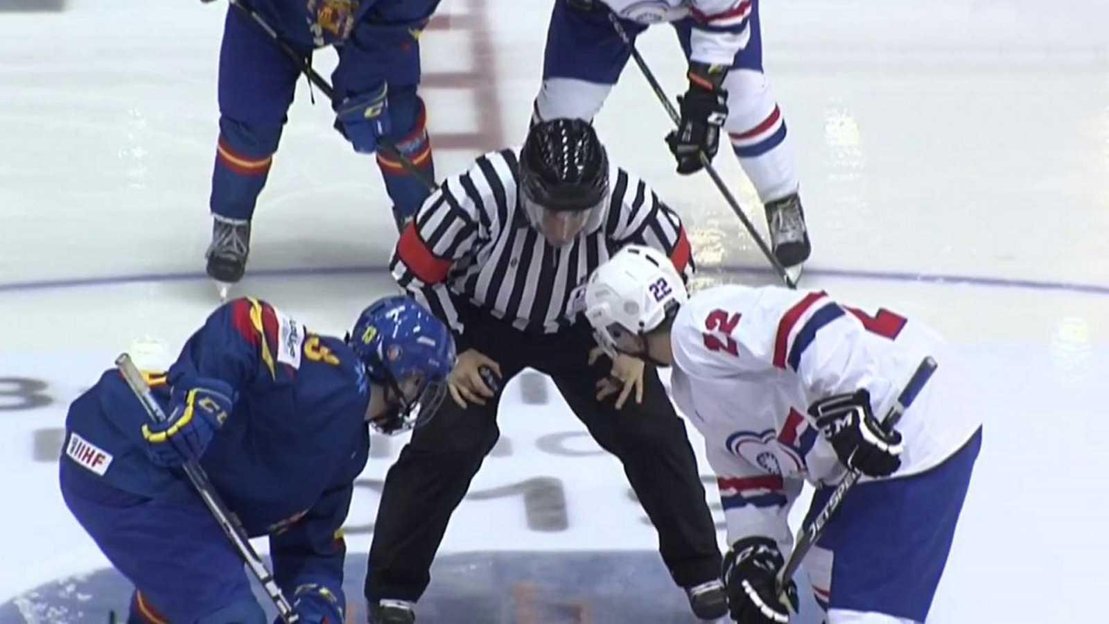 Hockey sobre hielo - Preolímpico masculino: España - China Taipei - ver ahora