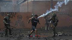 En Chile continúan las protestas en la calle dos meses después