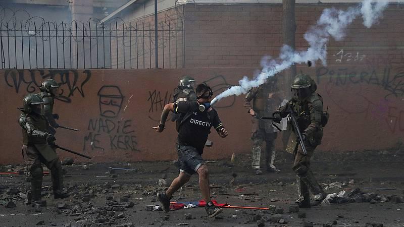 En Chile continúan las protestas en la calle
