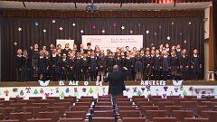 Un colegio de Madrid enseña valores a través del proceso de creación de un villancico