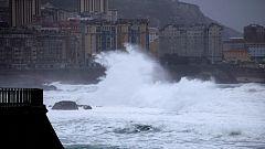 Un total de 19 provincias en aviso  por aludes, fenómenos costeros, lluvias o viento