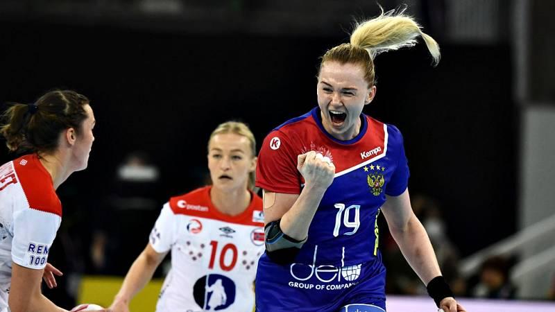 La selección de balonmano femenino de Rusia, dirigidao por el español Ambros Martín, se ha colgado la medalla de bronce en el Mundial de Japón 2019 tras imponerse 28-33 a Noruega en la final de consolación.