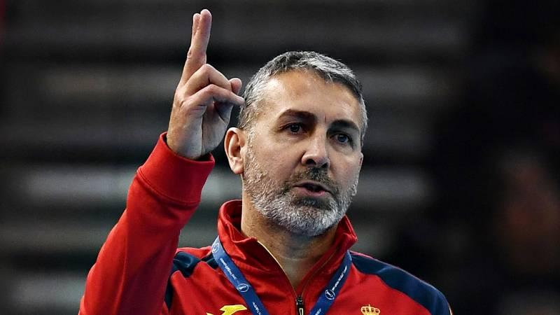 El seleccionador español ha lamentado en TVE el no haber aprovechado esa última acción del juego en el que las Guerreras podrían haber ganado el Mundial de Japón 2019.