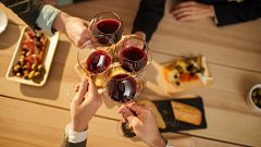 El consumo de vino se dispara en Navidad