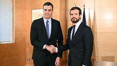 Sánchez se reúne con Casado y con Arrimadas en una semana decisiva para las negociaciones con ERC
