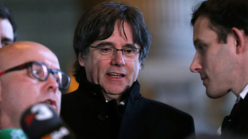 La justicia belga pospone hasta el 3 de febrero la decisión sobre la extradición de Puigdemont, Comín y Puig
