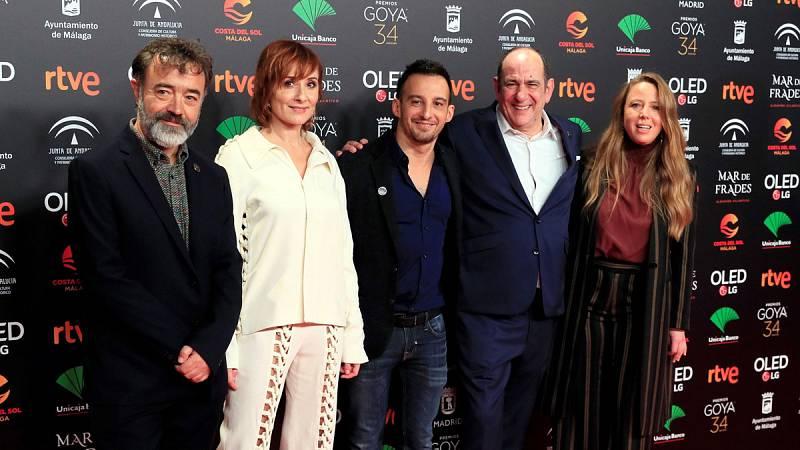Alegría e incertidumbre en la fiesta de los nominados a los Premios Goya