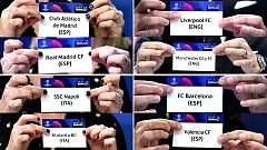 La suerte enfrenta a los equipos madrileños con los ingleses en la Champions