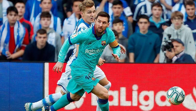 """Messi: """"Zidane sabía cuando volvió que las tres Champions no importaban"""""""