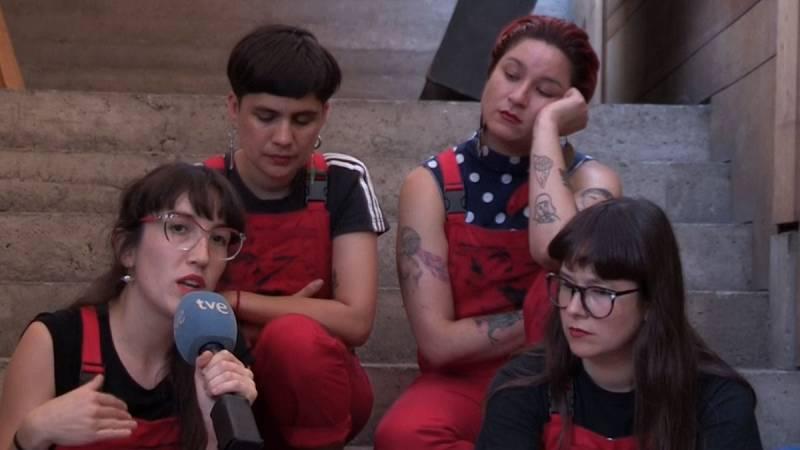 Las Tesis, orgullosas y preocupadas por el éxito de la canción 'Un violador en tu camino'