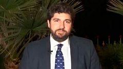 """López Miras: """"Me preocupa que el Gobierno dependa de los independentistas"""""""