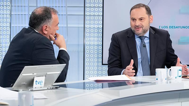 "Ábalos, ""convencido"" de que ERC ha renunciado a la vía unilateral para Cataluña"