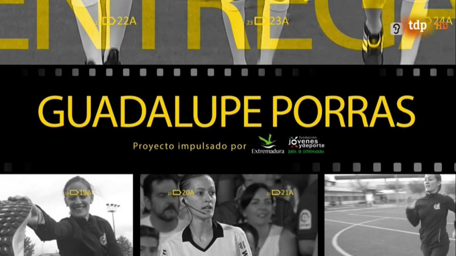Mujer y deporte - Árbitra de fútbol: Guadalupe Porras - ver ahora