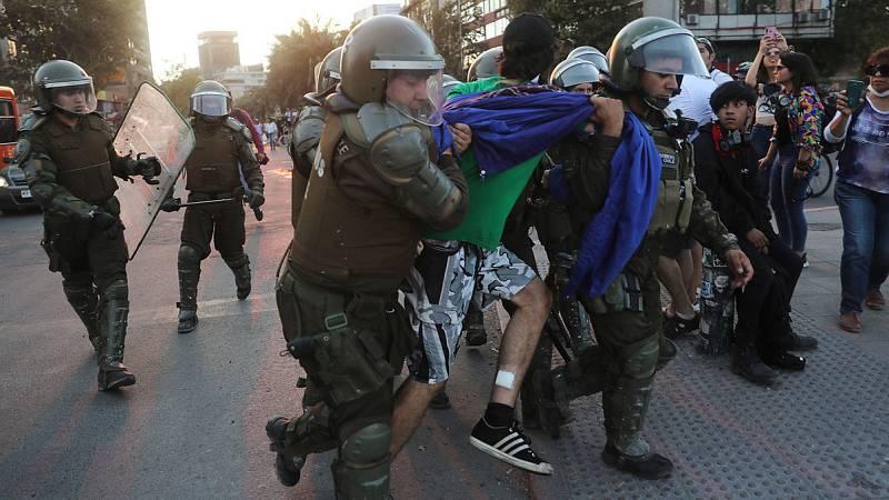 Chile continúa sumido en la protesta social dos meses después