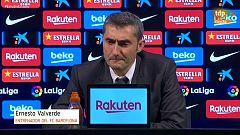 """Valverde: """"No hemos sido capaces de salvar su presión"""""""