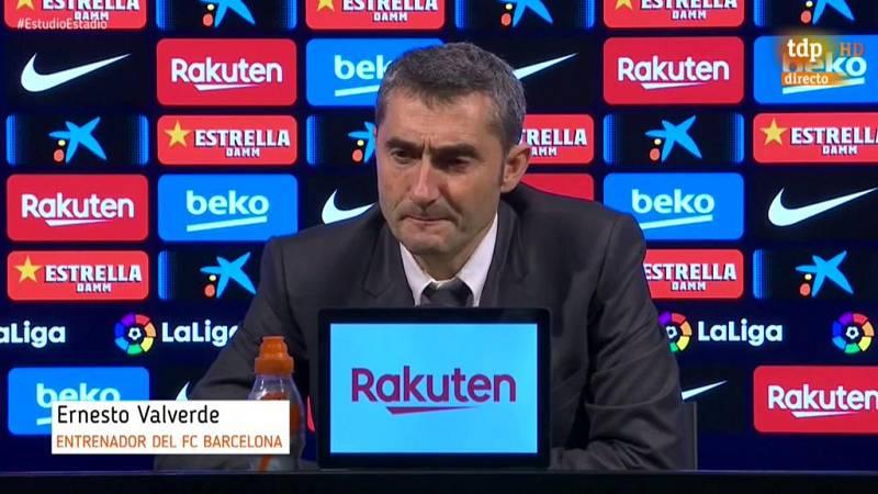 """El entrenador del FC Barcelona, dijo, tras concluir el clásico en el Camp Nou (0-0), que fue comprensible que su conjunto """"sufriese"""" porque el Real Madrid """"tiene un gran equipo""""."""