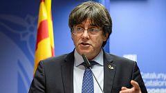 """Puigdemont: """"Hace nueve horas que Junqueras debería haber sido puesto en libertad"""""""