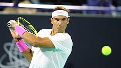 Nadal derrota a Khachanov y disputará la final en Abu Dabi contra Tsitsipas