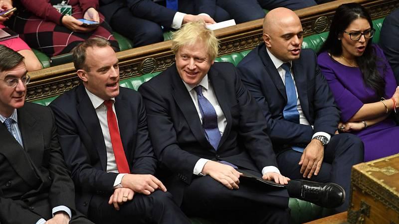 El Parlamento británico aprueba el proyecto para el 'Brexit' negociado entre Johnson y Bruselas