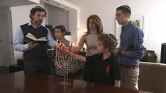Shalom - Hanuka con el rabino Brener