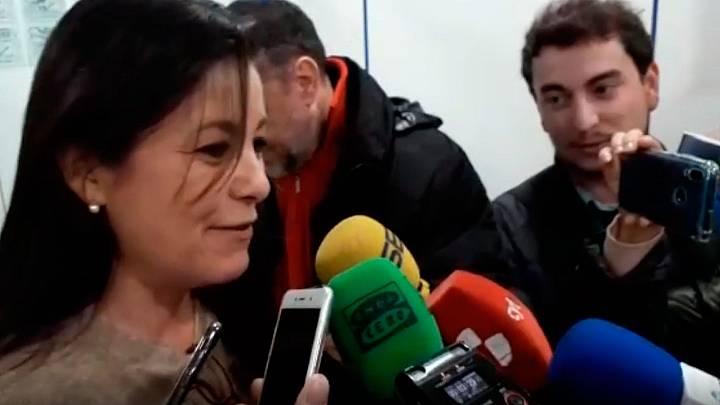 """La lotera de Salamanca que ha vendido el Gordo: """"Está muy repartido"""""""