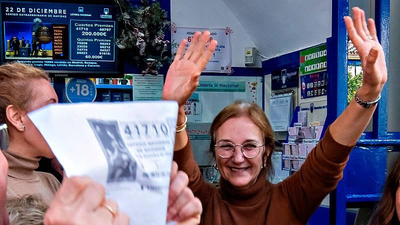 Utrera y Pelayos de la Presa se llevan los dos cuartos premios de la Lotería de Navidad