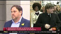 Parlamento - El foco parlamentario - Decisiones judiciales y política catalana - 21/12/2019