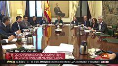 Parlamento - Conoce el Parlamento - Grupo Plural en el Congreso - 21/12/2019