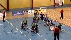 Baloncesto en silla de ruedas - Liga nacional. Resumen - 24/12/19
