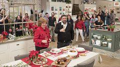 Hacer de comer - Navidad: zarzuela de marisco y tronco de Navidad