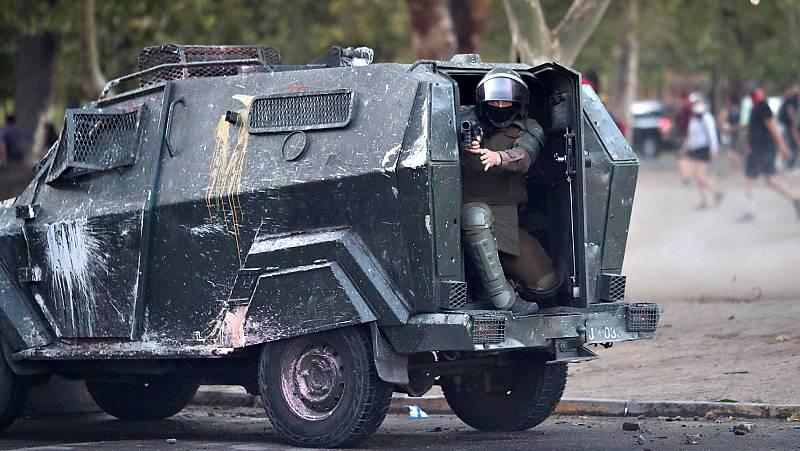 Un nuevo informe señala a las fuerzas de seguridad de Chile por violaciones de los derechos humanos en las protestas
