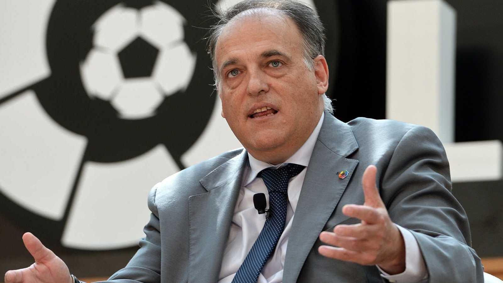 Javier Tebas, reelegido presidente de LaLiga