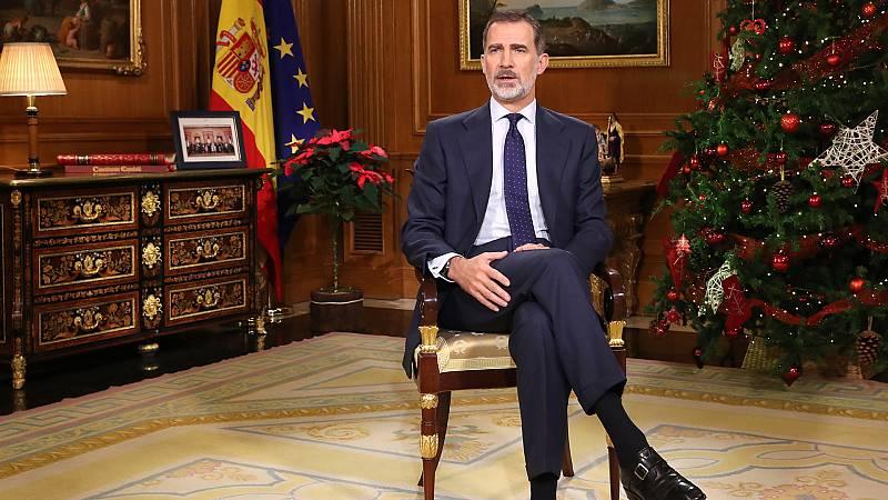 """Mensaje de Navidad: El rey, ante la investidura, llama al Congreso a decidir """"lo más conveniente para el interés general"""""""