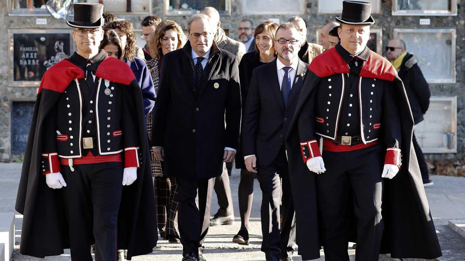 """Torra replica al rey que España, y no Cataluña, es una """"seria preocupación"""" para Europa"""