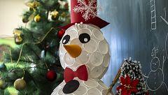 Navidades ecológicas: árboles de Navidad que fomentan el reciclaje