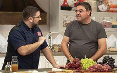 Hacer de comer - Pollo con uvas y verduras y lenguado con uvas y setas