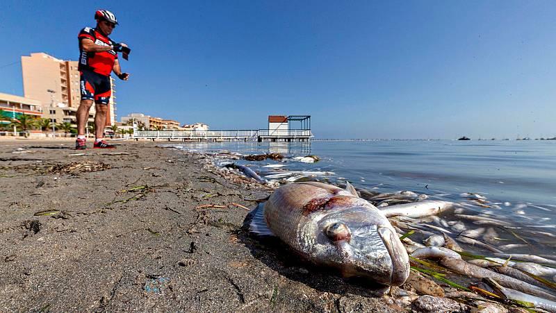 Murcia aprueba un decreto para intentar proteger el Mar Menor