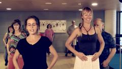 Baile para personas ciegas