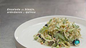 La ciencia de la salud - Receta de ensalada de hinojo, arándanos y quinoa