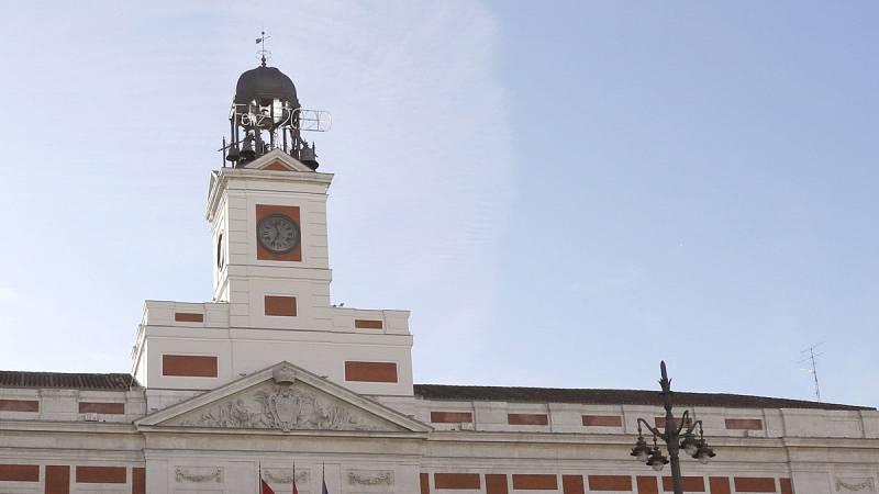 Seguridad para recibir al 2020 en la Puerta del Sol de Madrid