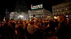 Ensayo general de las Campanadas en la Puerta del Sol de Madrid