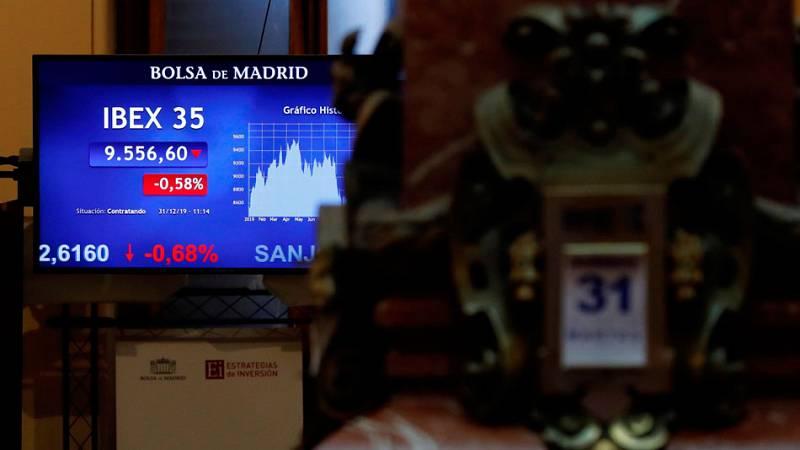 Los mercados cierran un 2019 de 'suspense' con un final 'más o menos feliz'