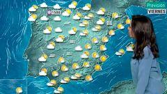 El tiempo sigue estable en la mayor parte de España con lluvias débiles en el Cantábrico
