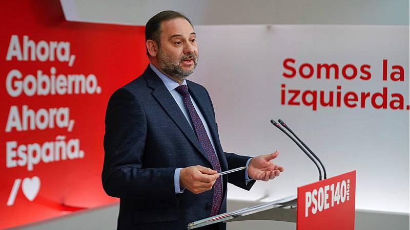 """Ábalos recuerda que la Constitución es """"incluyente"""" y que están explorando las opciones políticas necesarias para desatascar España"""