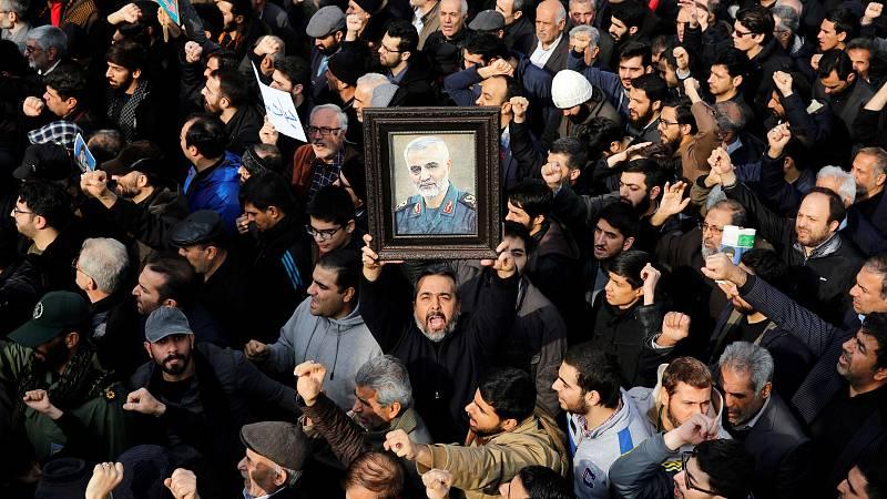 Oleada de reacciones tras el asesinato del general Soleimani en un bombardeo en Bagdad