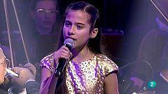 Melani García canta 'Marte' en el Concierto de Reyes 2020