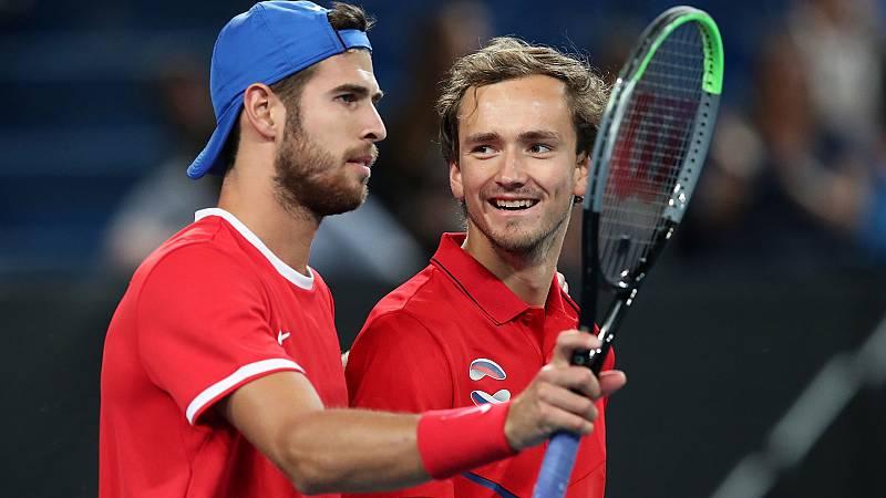 Australia, Canadá y Rusia empiezan fuerte la ATP Cup