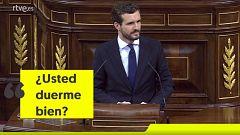 El jinete Sánchez, la barba de Casado y otros momentos del debate de investidura
