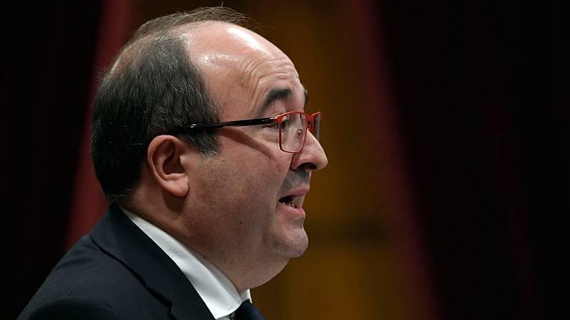 """Iceta tiende la mano a Torra """"para defender"""" las instituciones catalanas"""
