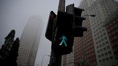 Nieblas persistentes en la mayor parte de España